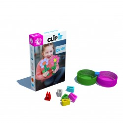 CLIP IT ART - 150 clips box - Koralie Limited edition